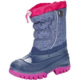 CMP Campagnolo Hanki Mel Snow Boots Kids Navy Melange